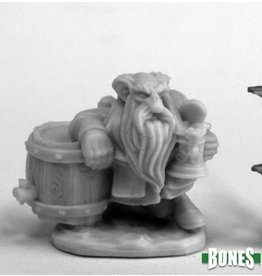 Reaper Miniatures Bones: Dwarf Brewer