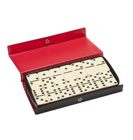 Wood Expressions Dominoes- Double 6 Ivory