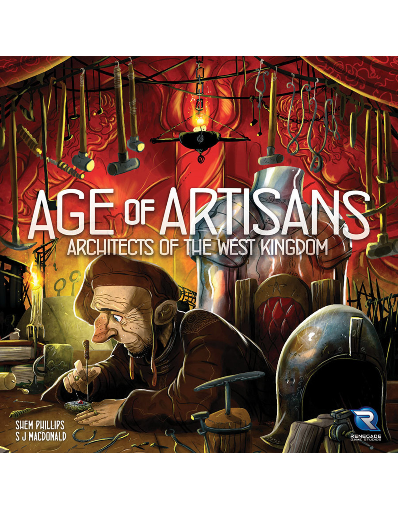 RENEGADE Architects of the West Kingdom: Age of Artisans Expansion