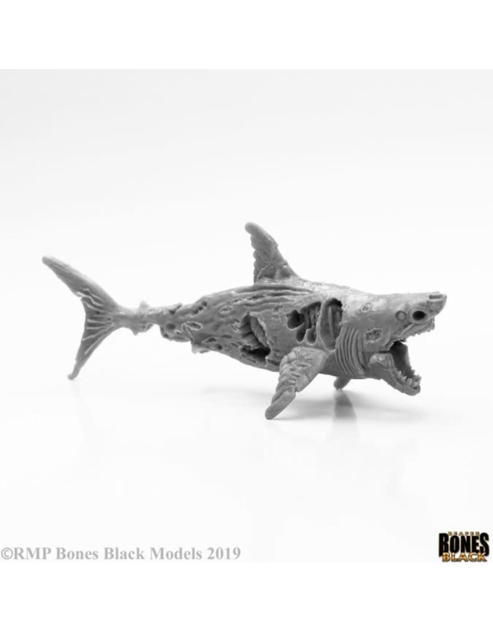 Reaper Miniatures Bones Black Zombie Shark