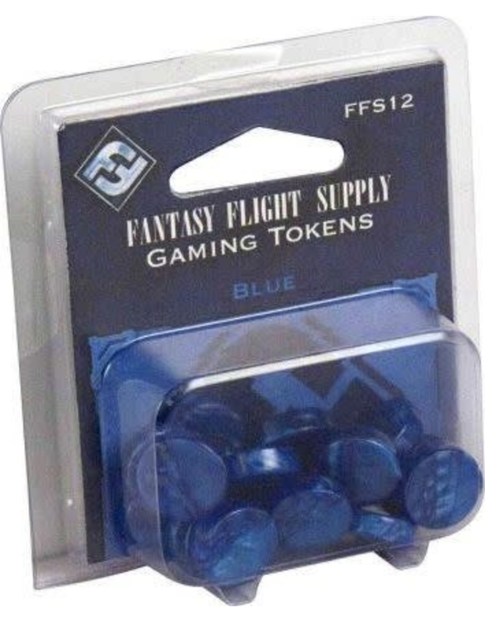 Fantasy Flight Games Blue Gaming Tokens
