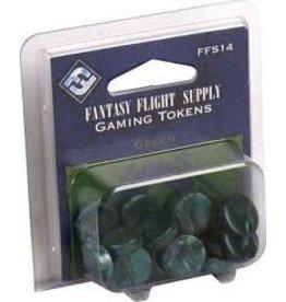 Fantasy Flight Games Green Gaming Tokens