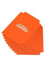 UGD CARD DIVIDERS STANDARD SIZE ORANGE