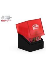 Ultimate Guard DECK CASE 100+ BOULDER - 2020 EXCLUSIVE RED/BLACK