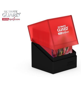 Ultimate Guard DECK CASE 100+ BOULDER - 2020 EXCLUSIVE RED/BLACK