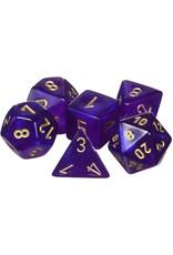 Chessex Borealis Poly Royal Purple/Gold (7)