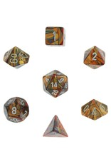 Chessex Lustrous Poly Gold/Silver (7)