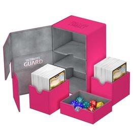 Ultimate Guard Twin Flip'n'Tray Xenoskin Deck Case 200+ Pink