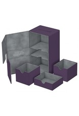 Ultimate Guard Twin Flip'n'Tray Xenoskin Deck Case 200+ Purple
