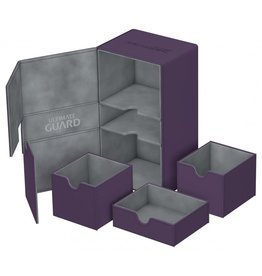 Ultimate Guard Twin Flip'n'Tray Xenoskin Deck Case 200+ Purple