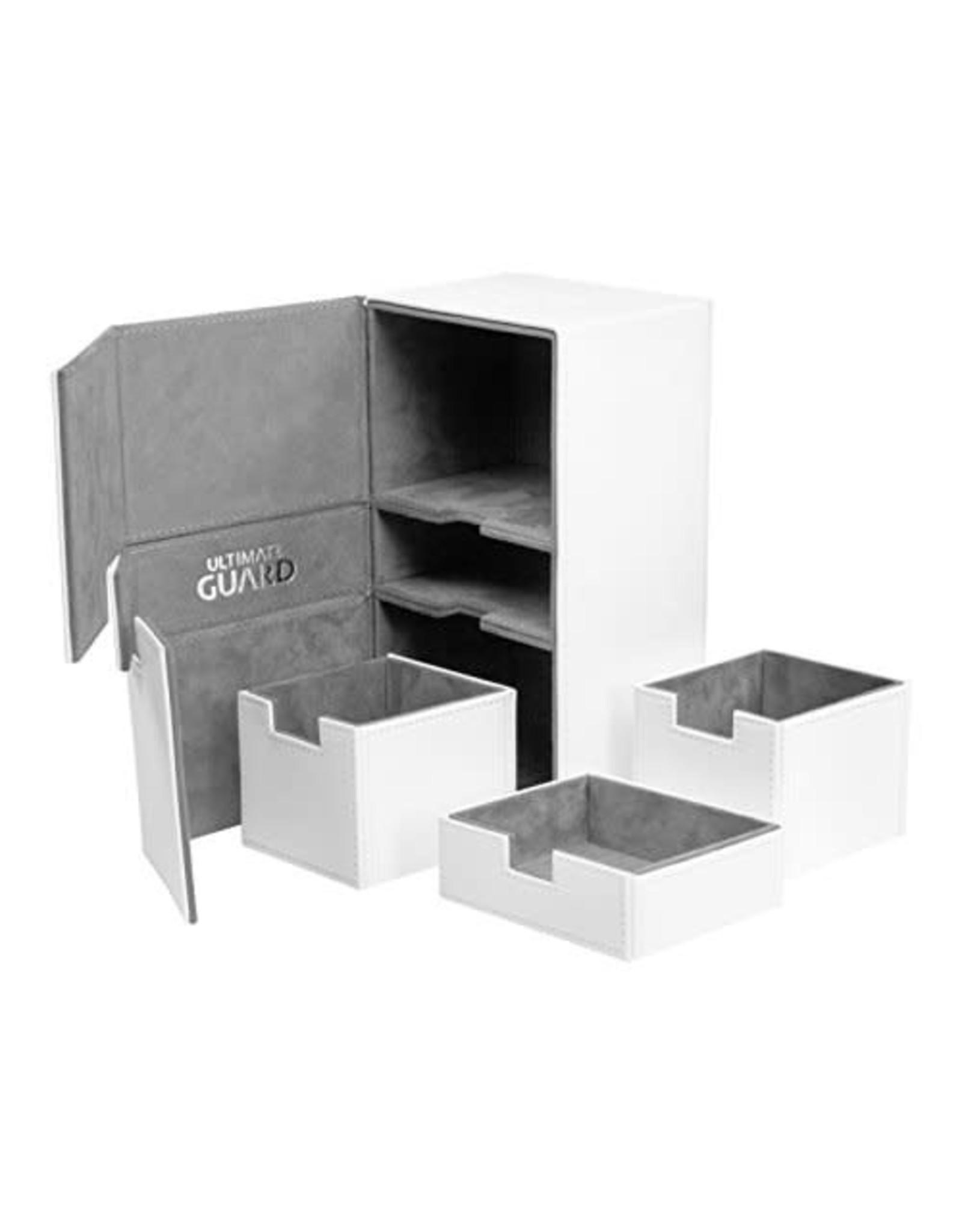 Ultimate Guard Twin Flip'n'Tray Xenoskin Deck Case 200+ White