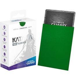 Ultimate Guard Katana Sleeves (100) Green
