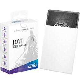 Ultimate Guard Katana Sleeves (100) White