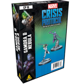 Asmodee Editions Marvel: Crisis Protocol - Gamora and Nebula Character Pack