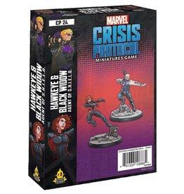 Fantasy Flight Games Marvel: Crisis Protocol - Black Widow and Hawkeye