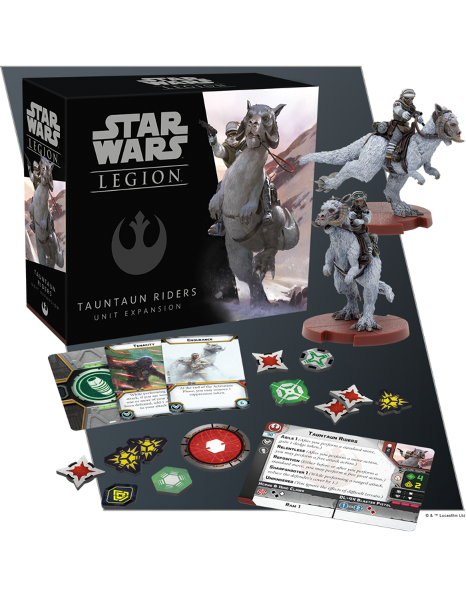 Fantasy Flight Games Star Wars: Legion - Tauntaun Riders Unit Expansion