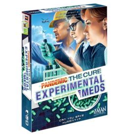 Z-Man Games Pandemic: The Cure Experimental Meds Expansion