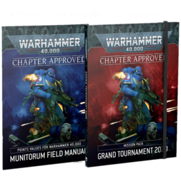 Games Workshop Chapter Approved: Grand Tournament 2020 Mission Pack and Munitorum Field Manual