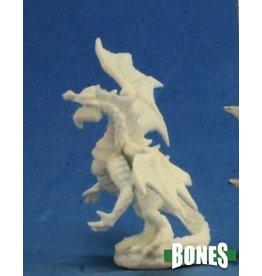 Reaper Miniatures Bones: Dragon Hatchling Green