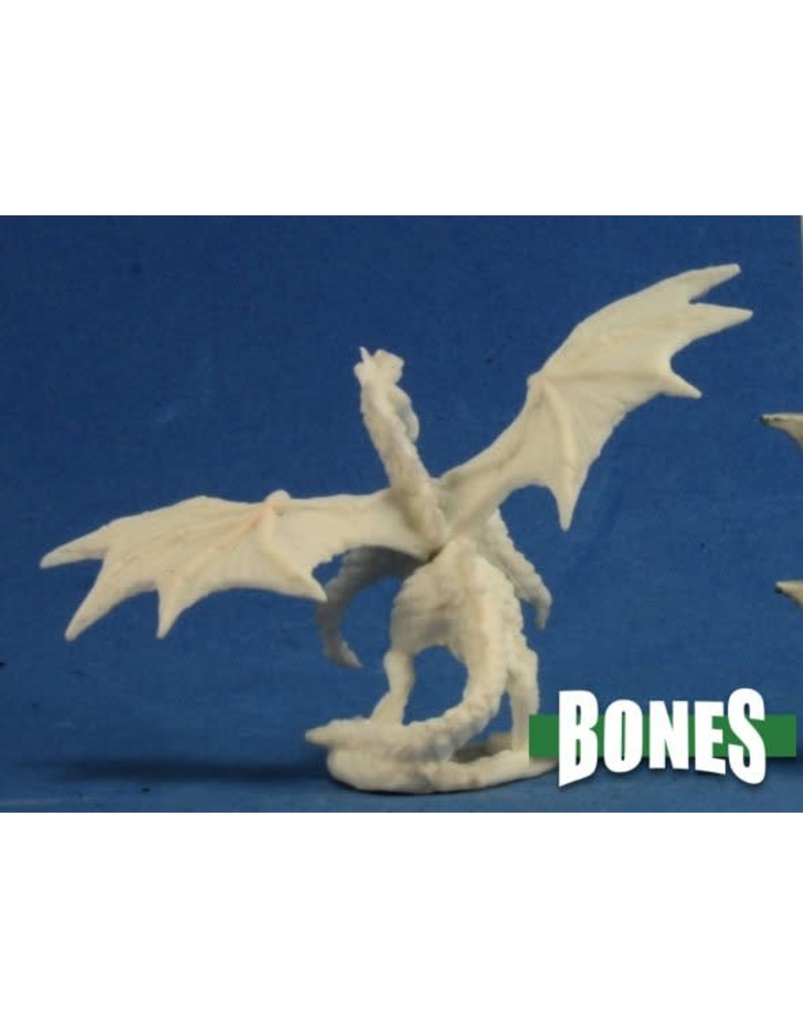 Reaper Miniatures Bones: Dragon Hatchling Green