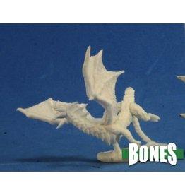 Reaper Miniatures Bones: Dragon Hatchling Black