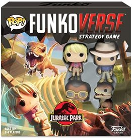 Funko POP! Funkoverse Strategy Game Jurassic Park 100 Base Set
