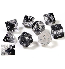 Sirius Dice 7CT SEMI-TRANSLUCENT POLY DICE SET - CLUBS