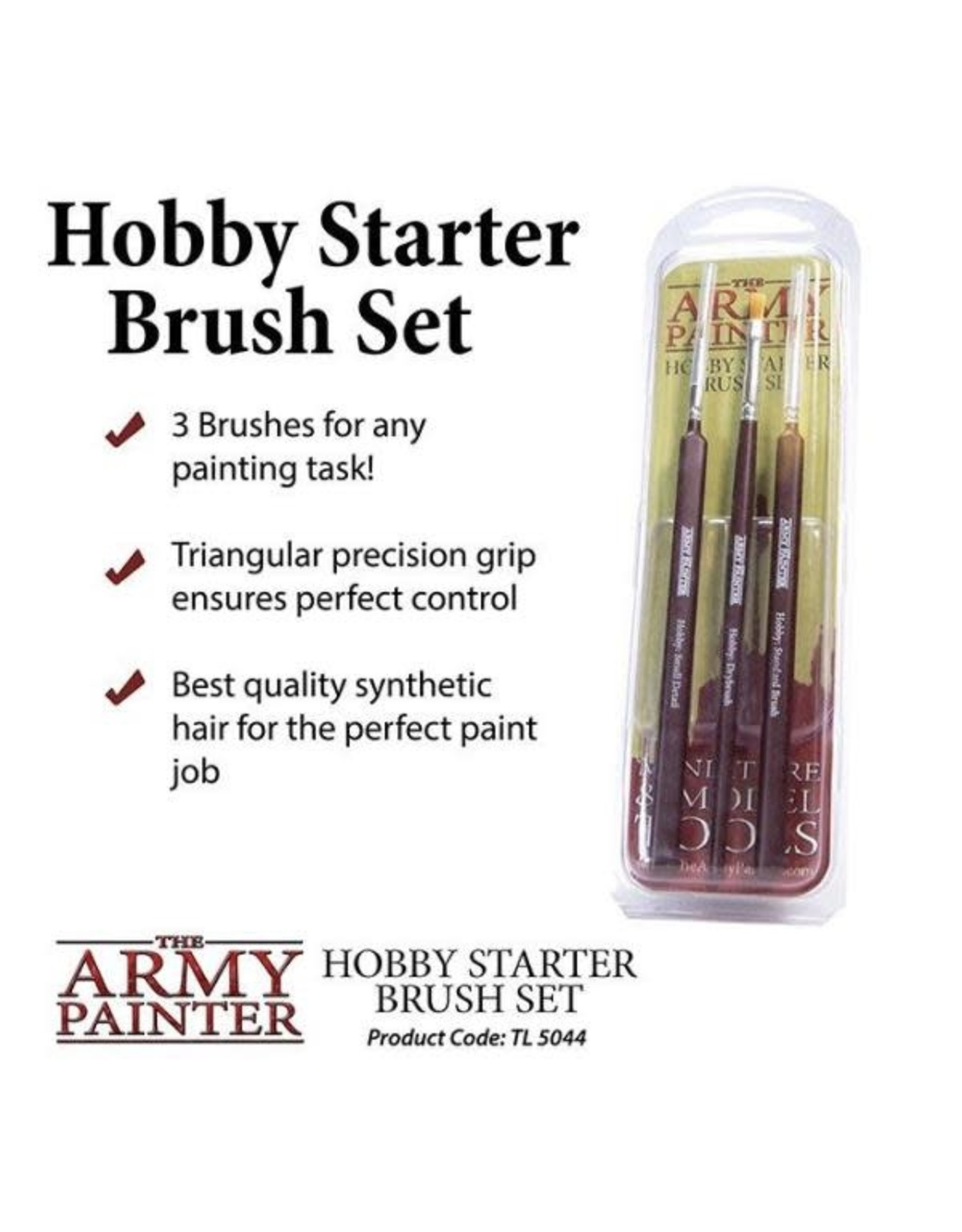 Army Painter Hobby Starter - Brush Set
