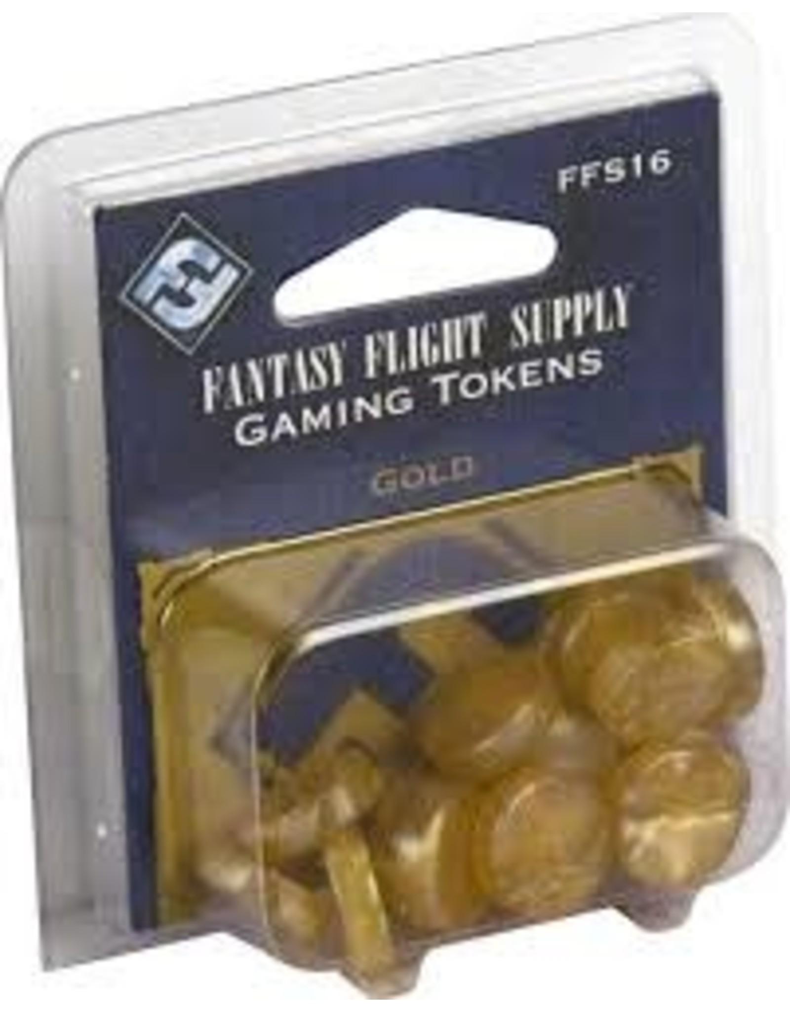 Fantasy Flight Games Gold Gaming Tokens