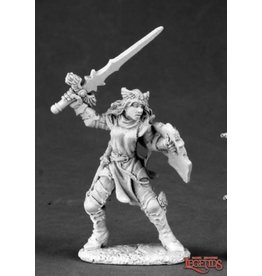 Reaper Miniatures ELISE, GOOD FEMALE KNIGHT