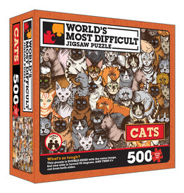 TDC Puzzles World's Most Difficult Puzzle: Cats
