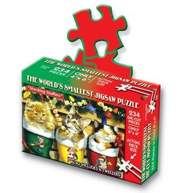 TDC Puzzles World's Smallest Jigsaw Puzzle: Stocking Stuffers
