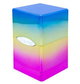 Ultra Pro Satin Tower- Hi-Gloss Rainbow