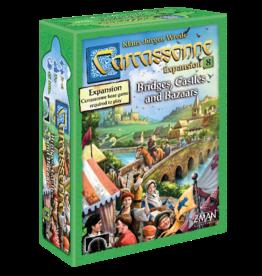Z-Man Games Carcassonne: Expansion 8 - Bridges Castles Bazaars