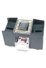 Wood Expressions 4-deck Automatic Card Shuffler (Battery Operated)