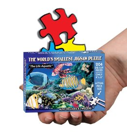 TDC Puzzles World's Smallest Jigsaw Puzzle: The Life Aquatic
