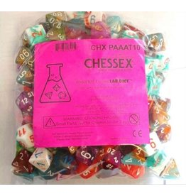 Chessex LAB DICE 150 LOOSE POLY BAG