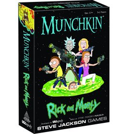 Steve Jackson Games Munchkin: Rick and Morty