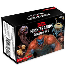 Gale Force Nine Dungeons and Dragons RPG: Monster Cards - Challenge 0-5 Deck