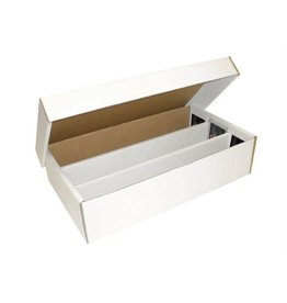BCW Cardboard Box Super Shoebox 3000 Count (pickup only)