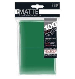 Ultra Pro DP: Pro Matte Green (100)