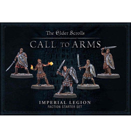 Modiphius Elder Scrolls: Call To Arms: Imperial Legion Plastic Faction Starter