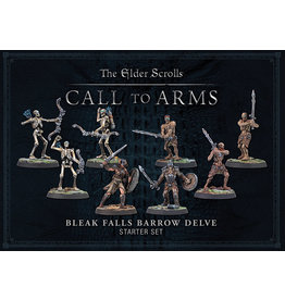 Modiphius Elder Scrolls: Call to Arms: Bleak Falls Barrow Plastic Delve Set