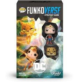 Funko POP! Funkoverse Strategy Game DC 102 Wonder Woman  & The Cheetah