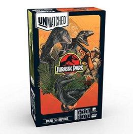RESTORATION GAMES Unmatched: Battle of Legends Jurassic Park: Ingen vs Raptors