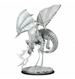 Wizkids D&D Mini Nolzur's Young Blue Dragon