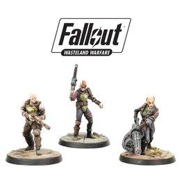 Modiphius Fallout: Wasteland Warfare Ack-Ack, Sinjin & Avery