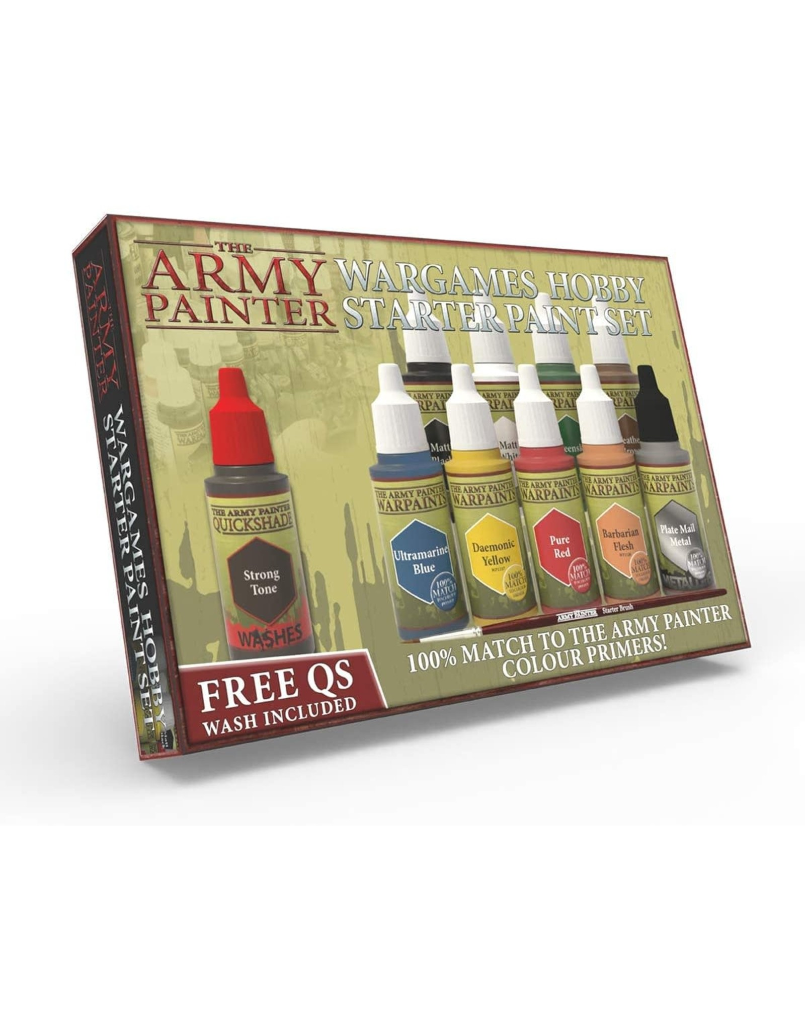 Army Painter Army Painter: Warpaints Starter Paint Set