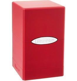 Ultra Pro Satin Deck Box Red