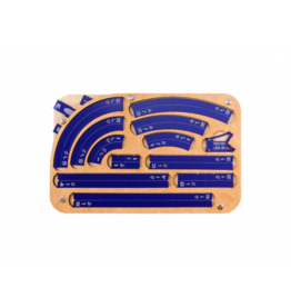 Micro Art Studio Space Fighter Maneuver Tray 2.0 - Navy Blue